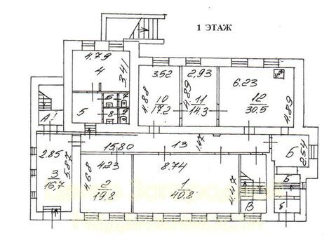 Отдельно стоящее здание, особняк, Смоленская, 445 кв.м, класс B+. м. . - Фото 5