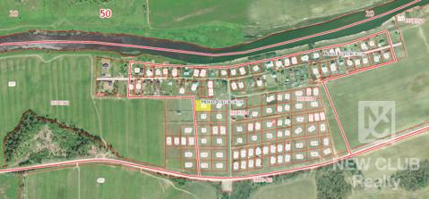 Участок на Москве реке 25 соток для ИЖС. Никифоровское 55 км. от МКАД. - Фото 1