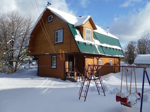 Продается дача для круглогодичного проживания в Наро-Фоминском районе - Фото 1