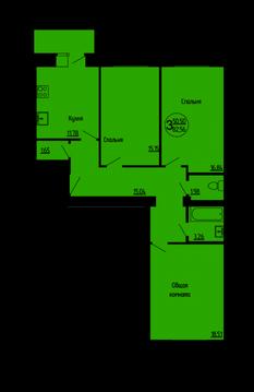 3-х комнатная квартира на ул. Рыбновская