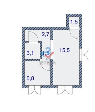 1-комнатная квартира по адресу Менделеева 126 - Фото 5
