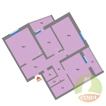 Продажа квартиры, Тюмень, Юганский проезд - Фото 1