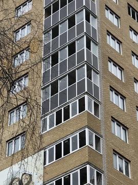 1-к.квартира (54м2), индивидуальный теплосчетчик, ЖК Восточный экспрес - Фото 2