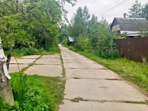 Участок 6 сот с дачным домиком в Рузском районе, 70 км от МКАД - Фото 1