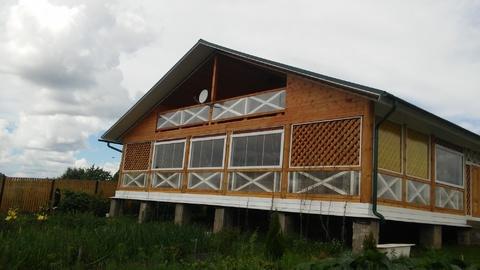 Продается жилой дом 140 кв.м. д. Садниково, 80 км от МКАД - Фото 1