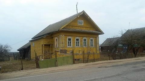 Продается крепкий дом 82 кв.м. из бревна на 44-х сотках земли, прописка - Фото 1