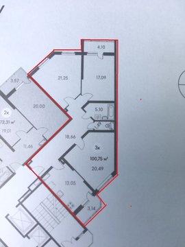 Купить квартиру в новостройке, Пикадилли. - Фото 2