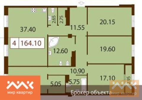 Продается 4к.кв, Басков - Фото 1