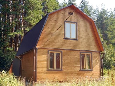 Дом из клеёного бруса (80 кв.м.). Земельный участок 8 соток. - Фото 1