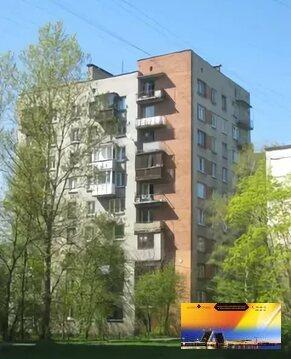 Квартира в кирпичном доме в 5-ти минутах от метро Пр.Ветеранов - Фото 1