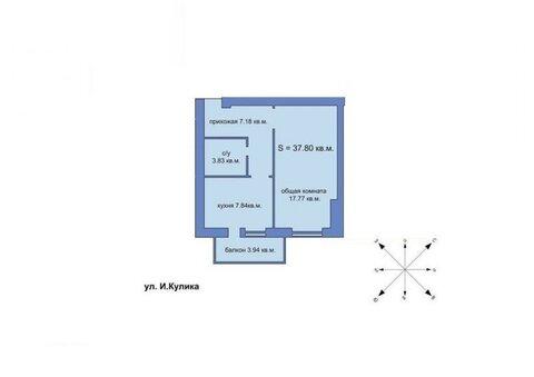 340 200 Руб., Квартира, город Херсон, Купить квартиру в Херсоне по недорогой цене, ID объекта - 317680995 - Фото 1