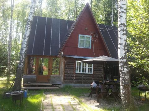 Дом из бруса 180 кв.м + мансарда на лесном участке 15 соток . - Фото 1
