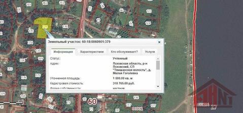 Продажа участка, Малая Гоголевка, Псковский район - Фото 1
