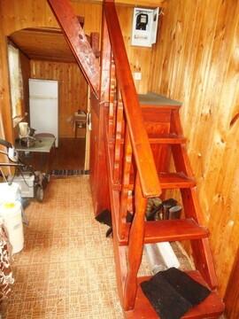Дом-баня из бревна 75 (кв.м). Земельный участок 6 соток. - Фото 3