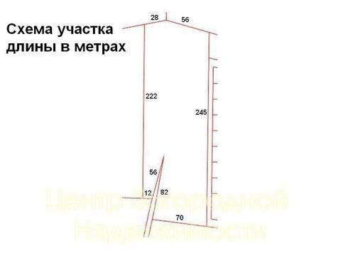 Участок, Егорьевское ш, 50 км от МКАД, Меткомелино, поле. Егорьевское .