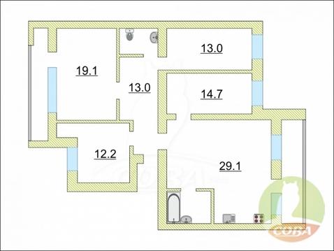 Продажа квартиры, Тюмень, Ул. Федюнинского - Фото 1