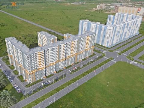 Большая 3-х комнатная квартира в новом доме с индивидуальным отопл. - Фото 3