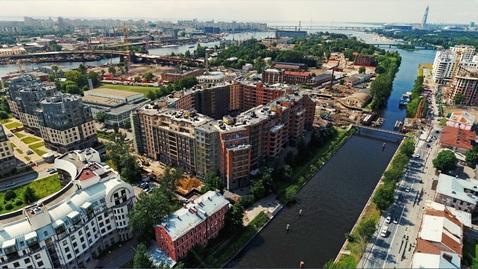 Продается двухкомнатная квартира бизнес-класса на Петровском острове - Фото 1