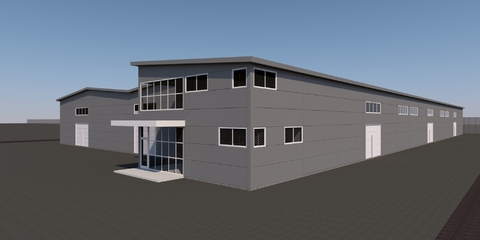 Сдам новое помещение под производство 500 м.кв. - Фото 1