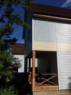 Купить дом из бруса в Чеховском районе г. Чехов, ул. Маркова - Фото 1