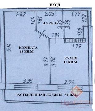 Однокомнатная квартира в ЖК Мечта - Фото 4