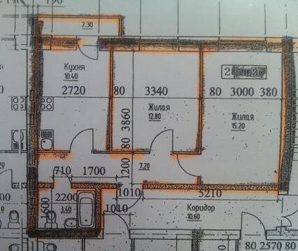 Мозайка 2 ком,52 кв, новый дом, срочно!