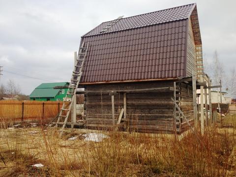 Участок 12 соток со срубом в п.Дорохово, Рузский район, 70 км. от МКАД - Фото 2
