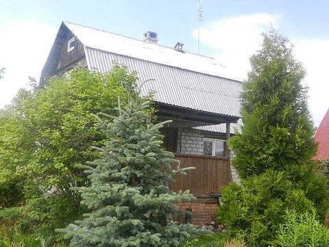 Массив Трубников Бор, СНТ Боровое М-1, 2-х этажная бревенчатая дача - Фото 2