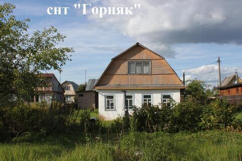 Дом с баней на участке 12 сот. в районе Сычево Волоколамский р-н - Фото 1