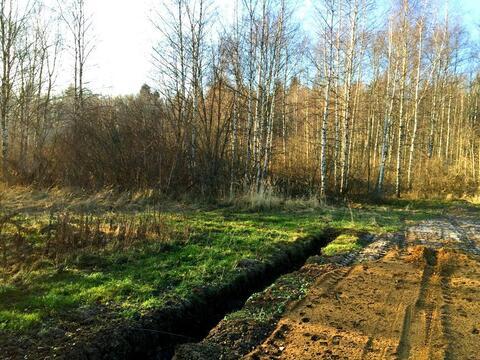 При лесной участок 10 сот/ д. Сазонки, 39км. от МКАД по Дмитровскому ш - Фото 1