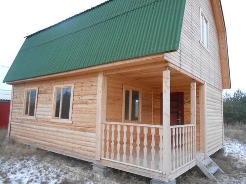 Новый дом с мансардой у леса в д.Тамышёво, Клепиковского района. - Фото 2