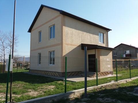 Купить новый двухэтажный дом в Новороссийске - Фото 1