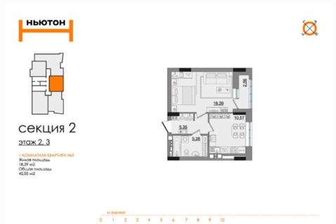 ЖК Ньютон новый жилой комплекс в р-не дкж - Фото 4