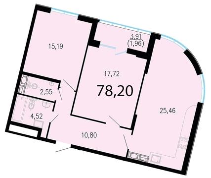 8 882 720 Руб., Продам 2к. квартиру. Жукова ул. к.2.3, Купить квартиру в Санкт-Петербурге по недорогой цене, ID объекта - 318417088 - Фото 1