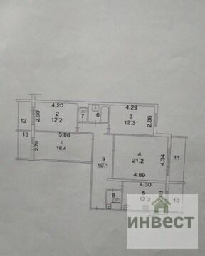 Продаётся 4-х комнатная квартира, г. Наро-Фоминск, ул. Маршала Кукотки - Фото 3