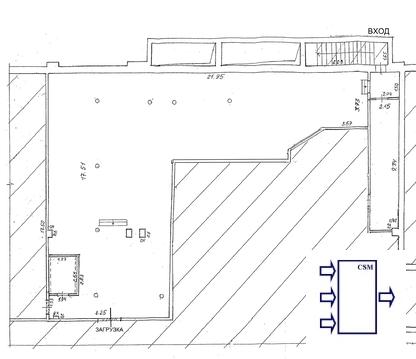 Уфа. Торговое помещение в аренду ул.б.Ибрагимова. Площ. 250 кв.м - Фото 2