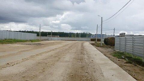 Пром. участок 1 Га в 30 км по Киевскому шоссе на бетонке - Фото 1