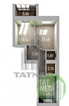 Продажа: Квартира 2-ком. Азата Аббасова 8 - Фото 2