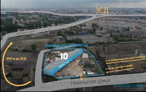 Продается 1эт здание 1466,1м2 на уч. 8007м2, ул. Невельская, д.10. - Фото 1