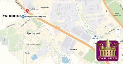 Продается квартира Респ Крым, г Симферополь, пгт Грэсовский, ул . - Фото 3