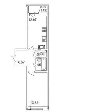 Продажа квартиры, Мурино, Всеволожский район, Шоссе в Лаврики - Фото 2