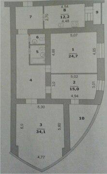 3-к квартира в новостройке в начале харьковской горы - Фото 4