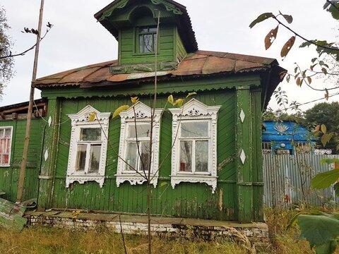 Дом старой постройки площадью 32 кв.м в деревне. Участок 10 соток. . - Фото 1