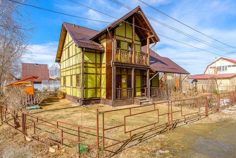 Дом 135кв.м.+10соток земли, 20км от Екатеринбурга. Решеты. СНТ - Фото 1