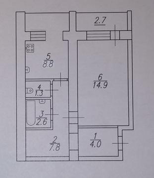 1-к квартира, Лунная, 25а - Фото 1