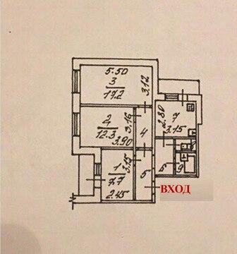 3-к квартира на Хар. горе - Фото 5