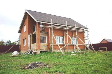 Жилой новый кирпич дом 146 кв.м, 2-х эт, зем. уч 6 сот, г. Сергиев Посад - Фото 2