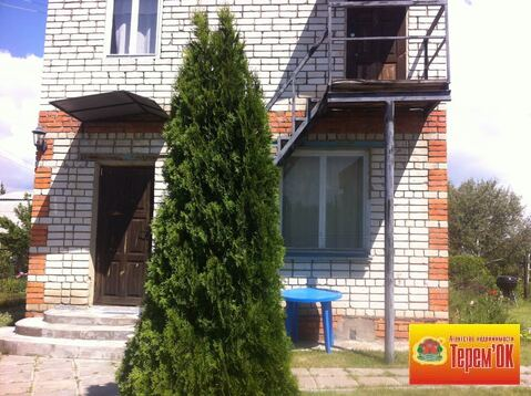 Двухэтажная кирпичная дача на Волге в районе села Подгорное - Фото 2