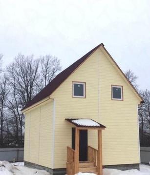 Купить дом из бруса в Наро-Фоминском районе д. Хлопово - Фото 1