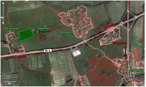 Земли промышленности 7,2 Га рядом с м-1., Промышленные земли в Смоленском районе, ID объекта - 201014722 - Фото 1